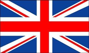 Billede af Storbritanien Deluxe Flag (90x150cm)