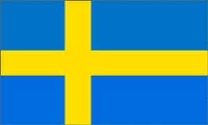 Billede af Sverige Deluxe Flag (90x150cm)