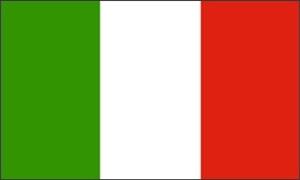 Billede af Italien Deluxe Flag (90x150cm)