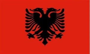Image of   Albanien Deluxe Flag