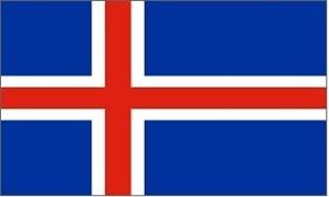 Billede af Island Deluxe Flag (90x150cm)