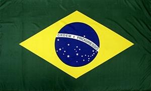 Billede af Brasilien Flag (150x240cm)