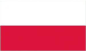 Billede af Polen Deluxe Flag (90x150cm)