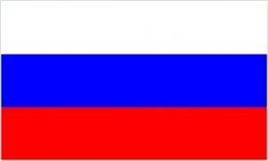 Billede af Rusland Deluxe Flag (90x150cm)