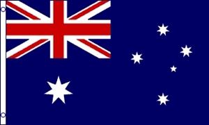 Billede af Australien Deluxe Flag (90x150cm)