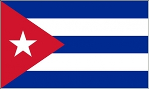 Billede af Cuba Flag (90x150cm)