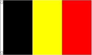 Billede af Belgien Deluxe Flag (90x150cm)