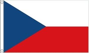 Billede af Tjekkiet Deluxe Flag (90x150cm)