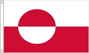 Billede af Grønland Deluxe Flag (90x150cm)