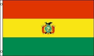 Billede af Bolivia Flag (90x150cm)