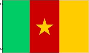 Billede af Cameroon Flag (90x150cm)