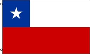 Billede af Chile Flag (90x150cm)