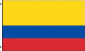 Billede af Colombia Flag (90x150cm)