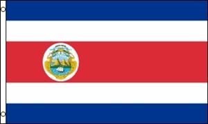 Billede af Costa Rica Flag (90x150cm)