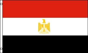 Billede af Egypten Flag (90x150cm)