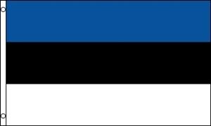 Billede af Estland Deluxe Flag (90x150cm)
