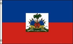 Billede af Haiti Flag (90x150cm)