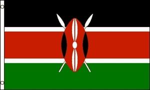 Billede af Kenya Flag (60x90cm)