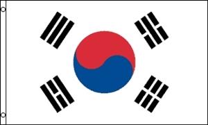 Billede af Korea, Syd Flag (90x150cm)