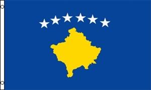 Billede af Kosovo Flag (90x150cm)