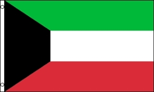 Billede af Kuwait Flag (90x150cm)