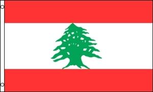Billede af Libanon Flag (90x150cm)