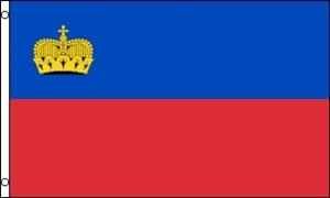 Billede af Liechstenstein Flag (90x150cm)