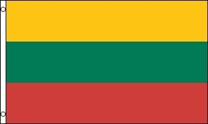 Billede af Litauen Deluxe Flag (90x150cm)