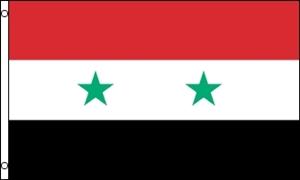 Syrien Flag (90x150cm)