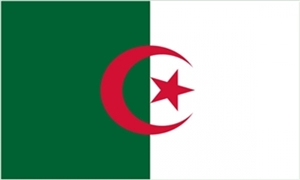 Billede af Algeriet Flag (90x150cm)