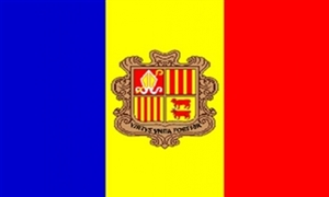Image of   Andorra Deluxe Flag