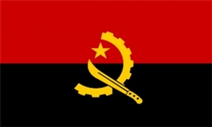 Image of   Angola Deluxe Flag