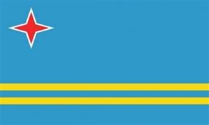 Billede af Aruba Flag (90x150cm)