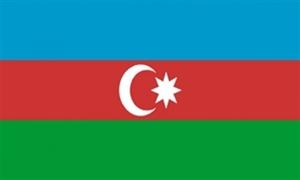 Image of   Aserbajdsjan Flag (90x150cm)