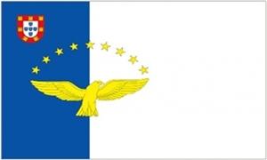 Billede af Azorerne Flag (90x150cm)