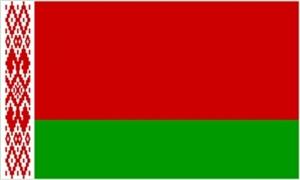 Billede af Hviderusland Flag (90x150cm)
