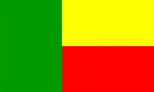 Billede af Benin Flag (90x150cm)