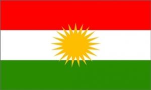 Billede af Kurdistan Flag (90x150cm)