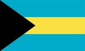 Image of   Bahamas Flag (90x150cm)