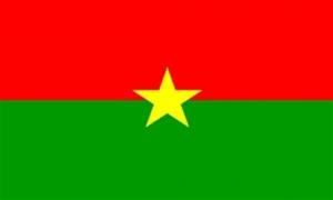 Billede af Burkina Faso Flag (90x150cm)