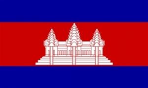 Billede af Cambodja Flag (90x150cm)