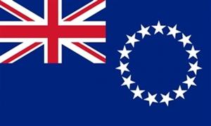 Billede af Cookøerne Flag (90x150cm)