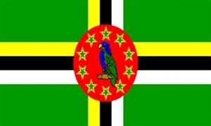 Billede af Dominica Flag (90x150cm)