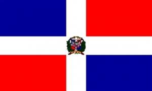 Billede af Dominikanske Republik Flag (90x150cm)