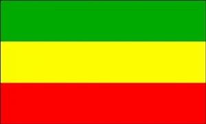 Billede af Etiopien Flag (90x150cm)