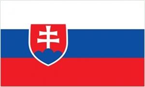 Slovakiet Deluxe Flag (90x150cm)