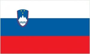 Billede af Slovenien Deluxe Flag (90x150cm)