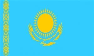 Billede af Kasakhstan Flag (90x150cm)