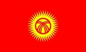 Kirgisistan Flag (90x150cm)