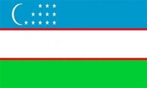 Usbekistan Flag (90x150cm)